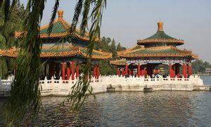 Китай, парк, природа