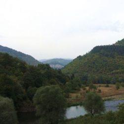 природа, река,