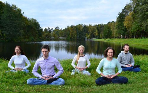 медитация, упражнения Фалуньгун,