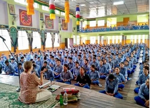 тибетские школы, Фалуньгун,