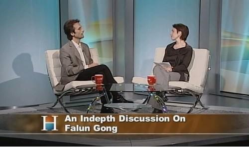 телевидение, Канада, о Фалуньгун,