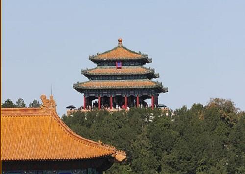 древний Китай, горы,